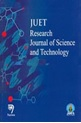 JUET Research Journal of Science & Technology